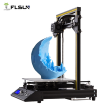Open Source 3D Printer Flsun-F4 Prebuilt Large Printing Area 240*240*260mm Metal Frame Heated Bed One Roll Filament For New User