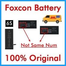 BMT 5 pçs/lote Foxcon Fábrica Bateria 1715 mAh 3.82 V Reimpresso 6 S reparação substituição Da Bateria para o iphone 100% Genuíno em 2019