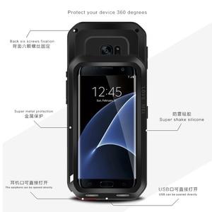 Image 3 - האהבה מיי אנטי דפיקה אלומיניום מקרי טלפון לסמסונג גלקסי מקרה קצה s7 לסמסונג גלקסי קצה S6 S7 S8 Case כיסוי 4 32 64 GB