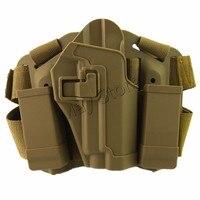 P226 Pistola Holster Airsoft Gun Accessories Piattaforma Coscia Flessibile Tattico Militare Holster per Sig Sauer P226 P229