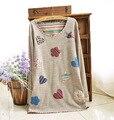 Новый 2016 Плюс Размер Женская Одежда Мода Осень Повседневная Рубашка Топы Марка Цветочные Наклейки Полный Рукав О-Образным Вырезом Блузка Девушки Blusas