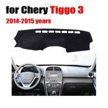 Приборной панели автомобиля площадка для Chery Tiggo 3 2014-2015 лет левый руль тире крышка инструмент платформы стол pad автомобильные аксессуары