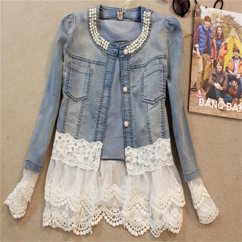 Online Buy Wholesale cute jean jacket from China cute jean jacket