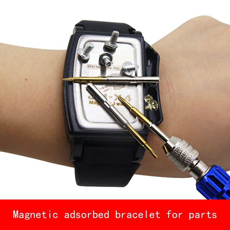 Creative design Magnetic adsorbed bracelet neodymium magner for screw nut parts repair цена и фото