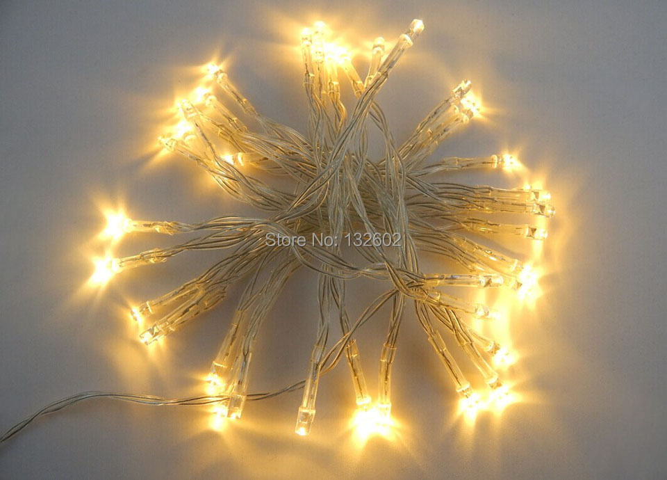 20 pcs/lot 3M 30 Leds Battery Led String Light 3pcs AA Battery Operated Fairy Party Chri ...