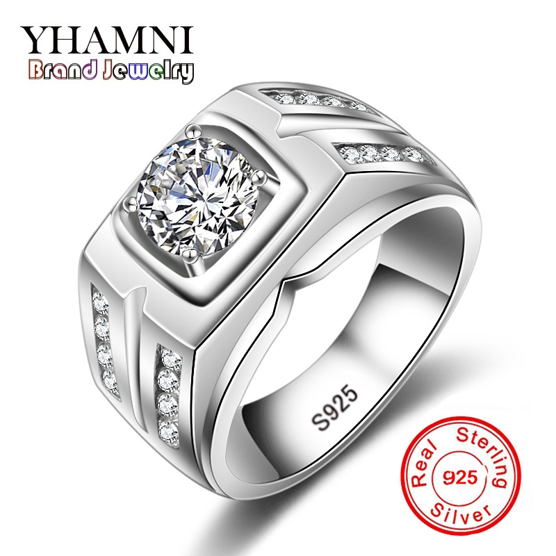 Engagement Rings On Sale Newcastle: Aliexpress.com : Buy YHAMNI Hot Sale Brand Fashion Men 925