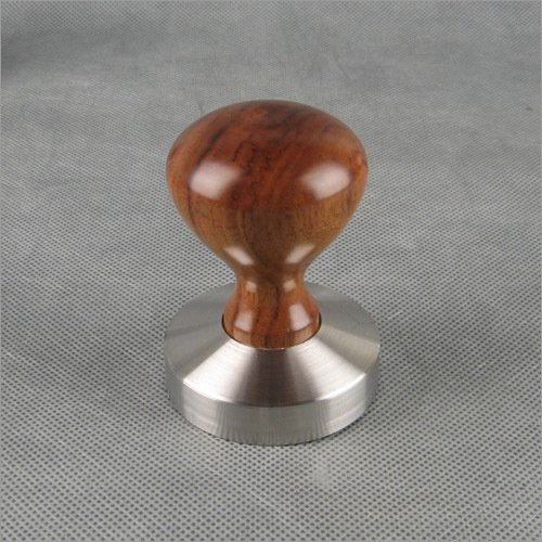 1 PC YF-06 Espresso Coffee Tamper Wooden Handle with stainless stell base 49MM 51MM 53MM 57MM 58MM