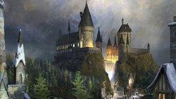 Harry-magic hogwart Castl wyspy przygoda zamek fantasy dzieci-potter tło komputer wydruku tła imprezowe