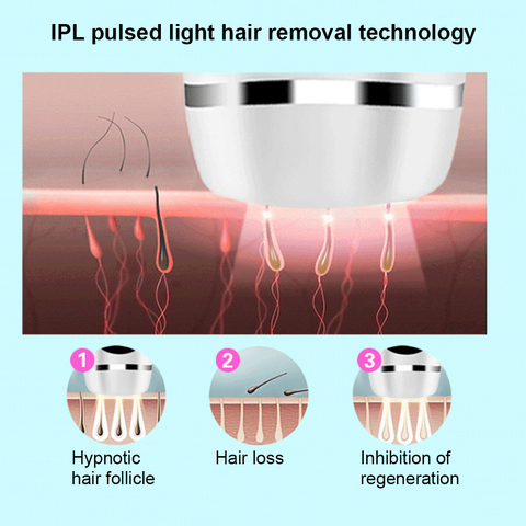 600000 Time Epilator IPL Professional Electric Laser Hair Removal Machine Permanent Handheld Home Whole Body Photoepilator Multan
