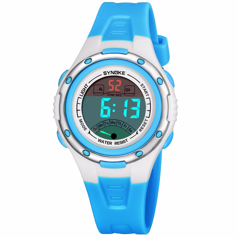 Relogio Infantil Sport Student Children Watch Kids Watches Boys Girls Clock LED Digital Electronic Wrist Watch Gifts With Box