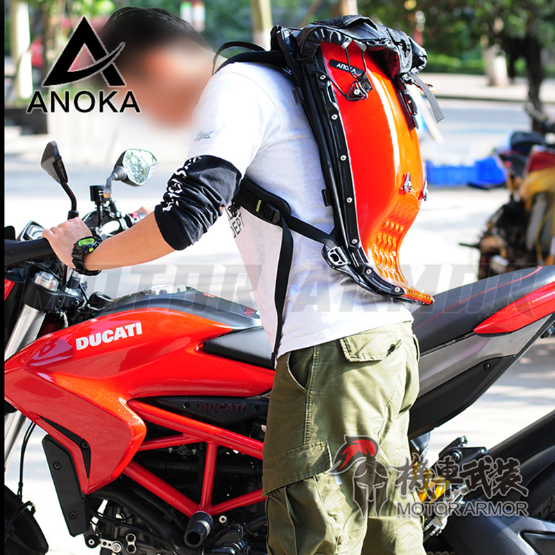 25l Anoka Motorcycle Riding Hard Shell Luggage Backpack