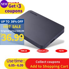 TOSHIBA 500GB External HDD Portable Hard Drive Disk HD 5400rpm USB 3.0 SATA 2.5