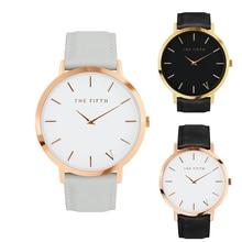 Luxury Brand Simple Men Business Watch Analog Women's Fashion Casual Genuine Leather Quartz Watch Relogio Wristwatch
