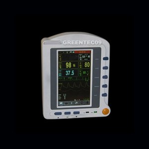 CMS6500 7'' ICU CCU Vital Signs Monitor ECG, Blood Pressure, Oximeter, Pulse Rate, Temperature Multiparameter Patient Monitor replacement for vital signs monitor medical twslb 008 hylb 1049 m3 ecg machines battery