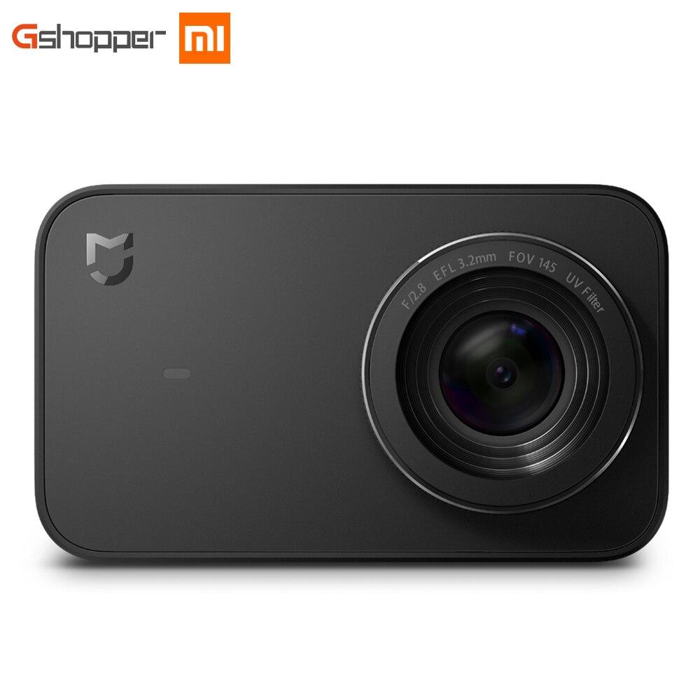 Оригинальный Xiaomi mijia мини Камера умный маленький Cam Bluetooth 4.1 2.4 4 К 30fps 6 оси электронный анти- встряхните 145 градусов Широкий формат