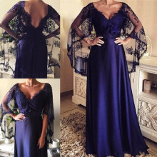 Vestido de madrinha атласное платье для матери невесты размера плюс платье для матери с кружевным плащом abito sposa свадебное платье для гостей