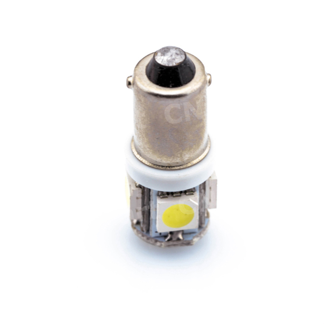 Marker Lamps  Ba9s T4w 5050 SMD 5 LED Tower 96 Lumen