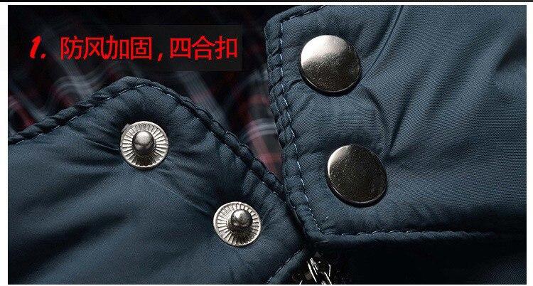 Erkekler Hoody Kışlık Mont Erkek Kapüşonlu Artı Boyutu XXXL 4XL - Erkek Giyim - Fotoğraf 5