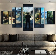 CSGO Game 5 Pieces Home Decor The Wall Art Artwork Modern Paintings on Canvas for Living Room HD Print Painting