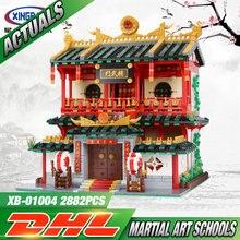 XingBao 01004 2531 Pcs Véritable Creative Building Série Les Arts Martiaux Chinois Ensemble Enfants Blocs de Construction Briques Jouets Modèle