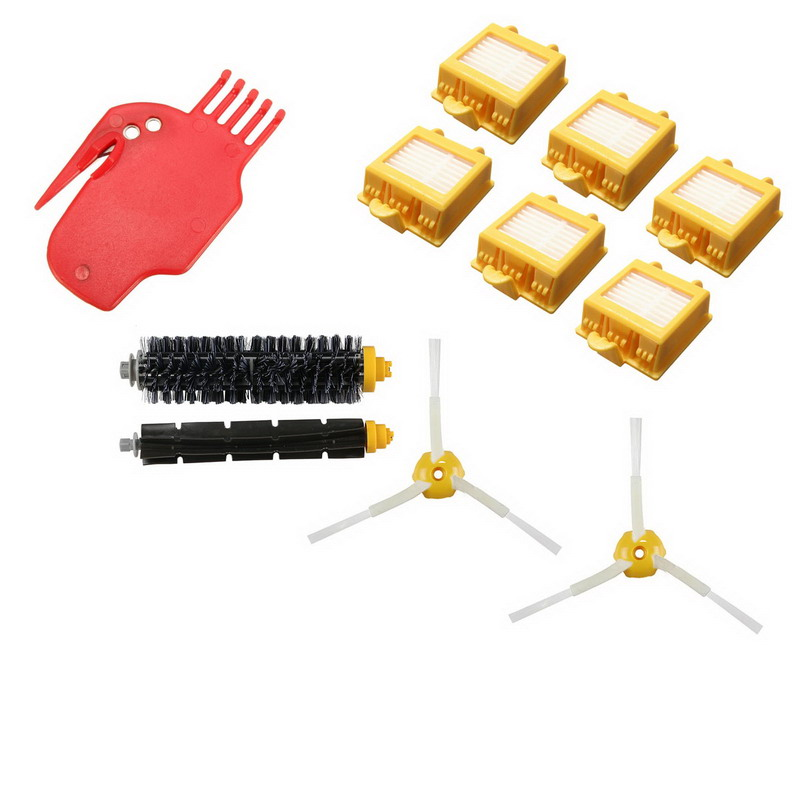 Cleaning Sweeping Robot Beater Brush/Filter,700 Series Replenishment Kit,Vacuum Cleaning Robots Parts AccessoriesVCX32 T17 0.5 original oem cleaning robot automatic sweeping 2 sidebrush rotating soft brush 400series vacuum cleaning robot parts accessories