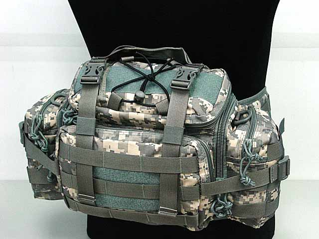 Tactical Molle Utility Gear Asalto Cintura Bolsa de la Bolsa de Deporte Al Aire