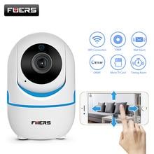 FUERS HD 720 P/1080 P Wi-Fi ip-камера двухстороннее аудио внутренняя безопасность жилища видеонаблюдения ночное видение беспроводной миниатюрный детский монитор