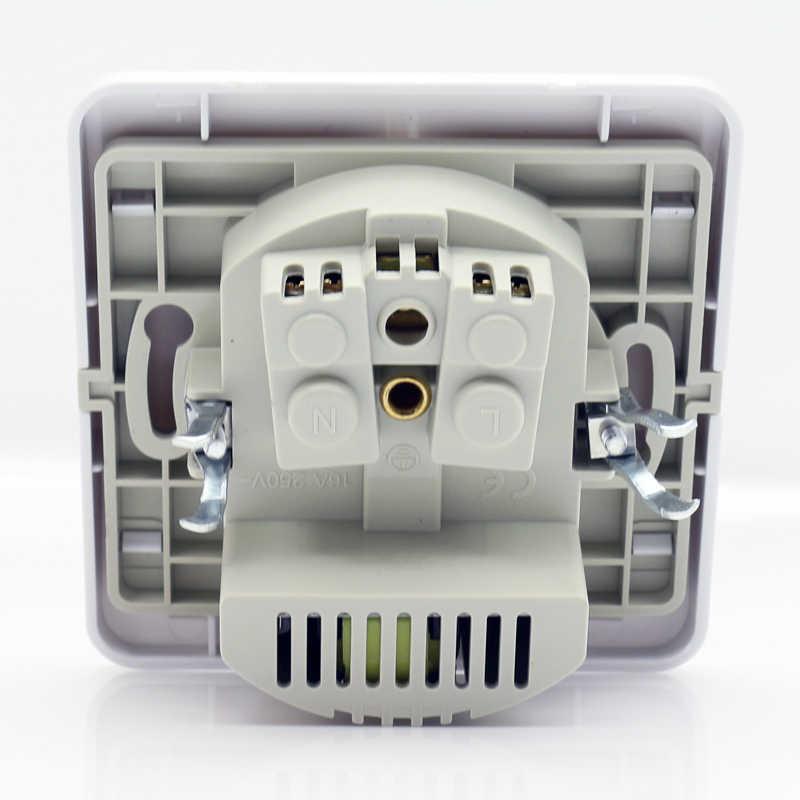 최고의 듀얼 usb 포트 2000ma 벽 충전기 어댑터 eu 소켓 usb 전원 콘센트 패널