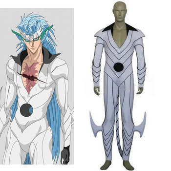 Anime Bleach Cosplay-Bleach Grimmjow Jeagerjaques Forma Pantera uomo Cosplay Costumi per Halloween/Cosplay partito Freeshipping