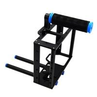 Camera Cage Rig Heavy duty aluminum alloy Lightweight DSLR Camera Cage Rig for BMCC BlackMagic Cinema Camera