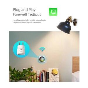 Image 4 - 4 Cái/lốc Thông Minh Cắm EU Hỗ Trợ Amazon Alexa Google Home Điều Khiển Từ Xa Phát Wifi Mini Ổ Cắm Ổ Cắm Với Chức Năng Thời Gian
