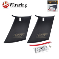 VR RACING PQY Spoiler WING STABILIZER FOR 2004 07 STI SEDAN With PQY Sticker SET Of