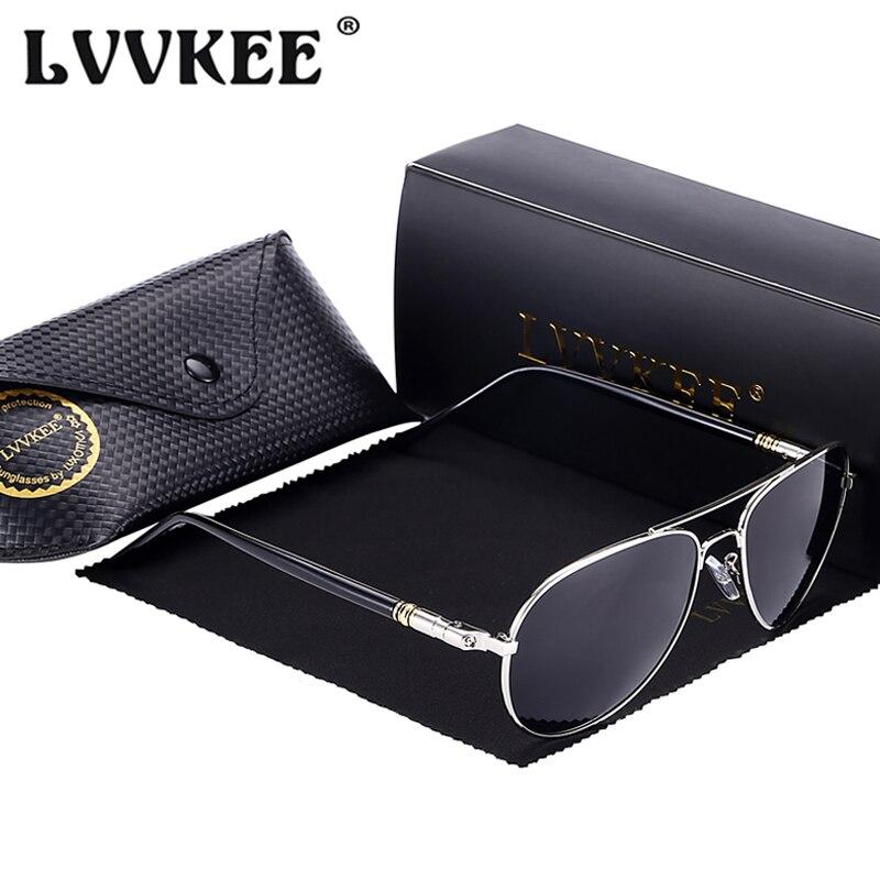 Hot LVVKEE 2019 Fashion Driving Brýle Pánské 100% polarizované sluneční brýle pro mužské polarizační čočky Brýle UV400 Gafas De Sol