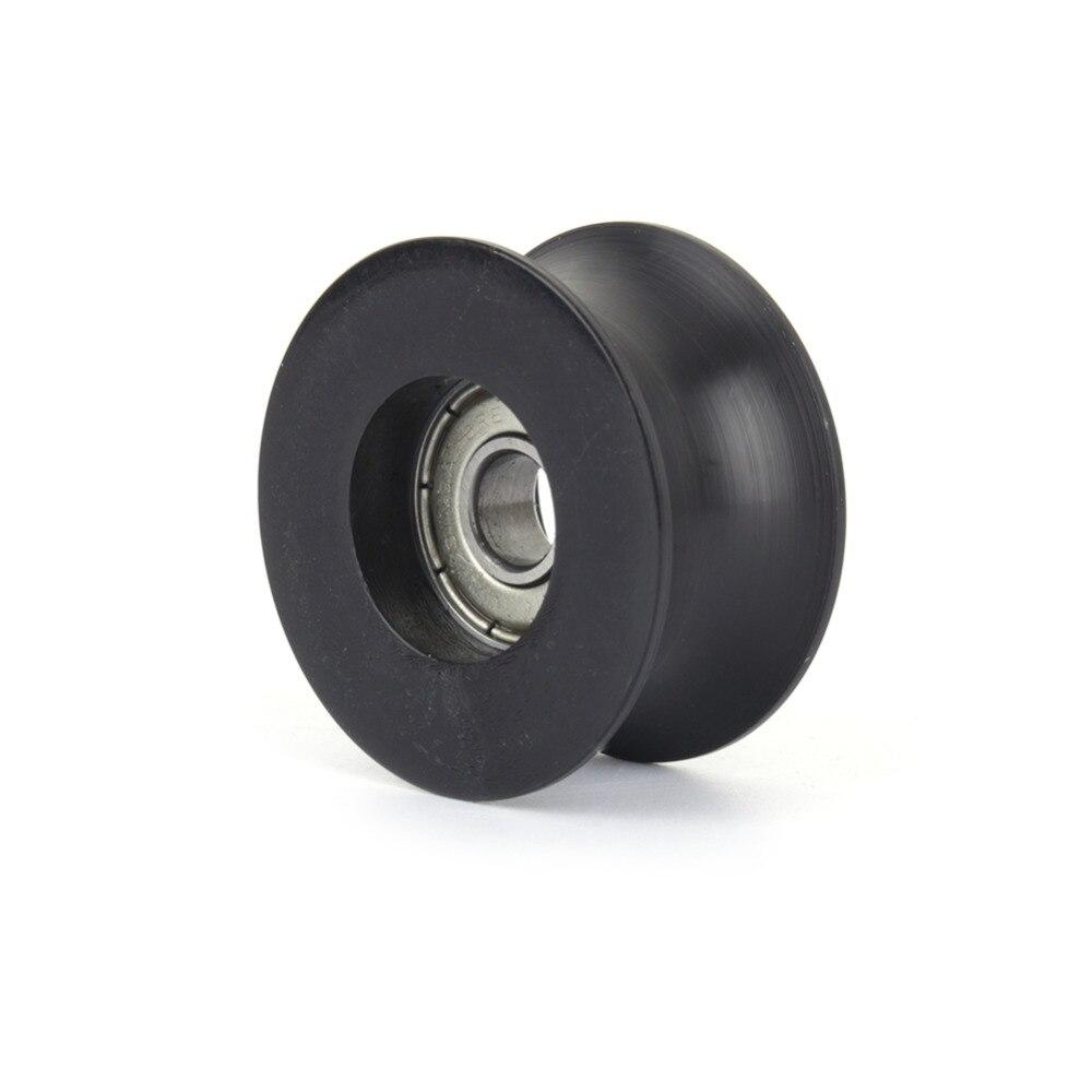 8*40*20.7mm 0840UU 8mm Groove Guide Pulley Sealed Rail BallBearing 8*40*20.7 10