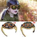 2013 Nova Retail Couro Do Bebê Chapéus de Inverno Crianças Piloto Chapéu/Caps meninos vôo tampas crianças Warmer gorro earflap