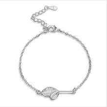 Everoyal Trendy 925 Sterling Silver Bracelets For Women Jewelry Charm Leaf Silver Bracelet Girl Lady Bracelet Accessories Female 925 sterling silver thai handcrafted individual trendy leaf frosted fine bracelet creative feather lady s ring accessories