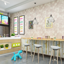 Modern Simple Magic PVC Waterproof Wallpaper Personality Alternative Decoration Kitchen Restaurant Cafe Bar Wall Paper