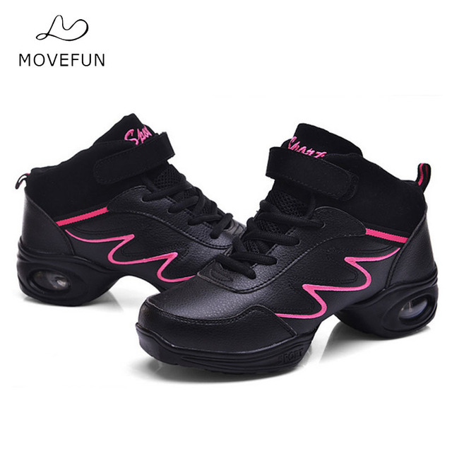 Kedatangan Olahraga Fitur Sepatu Wanita Tari Jazz hip hop Sepatu Putih  untuk Wanita Gadis Lembut Sepatu 2582bf8b23