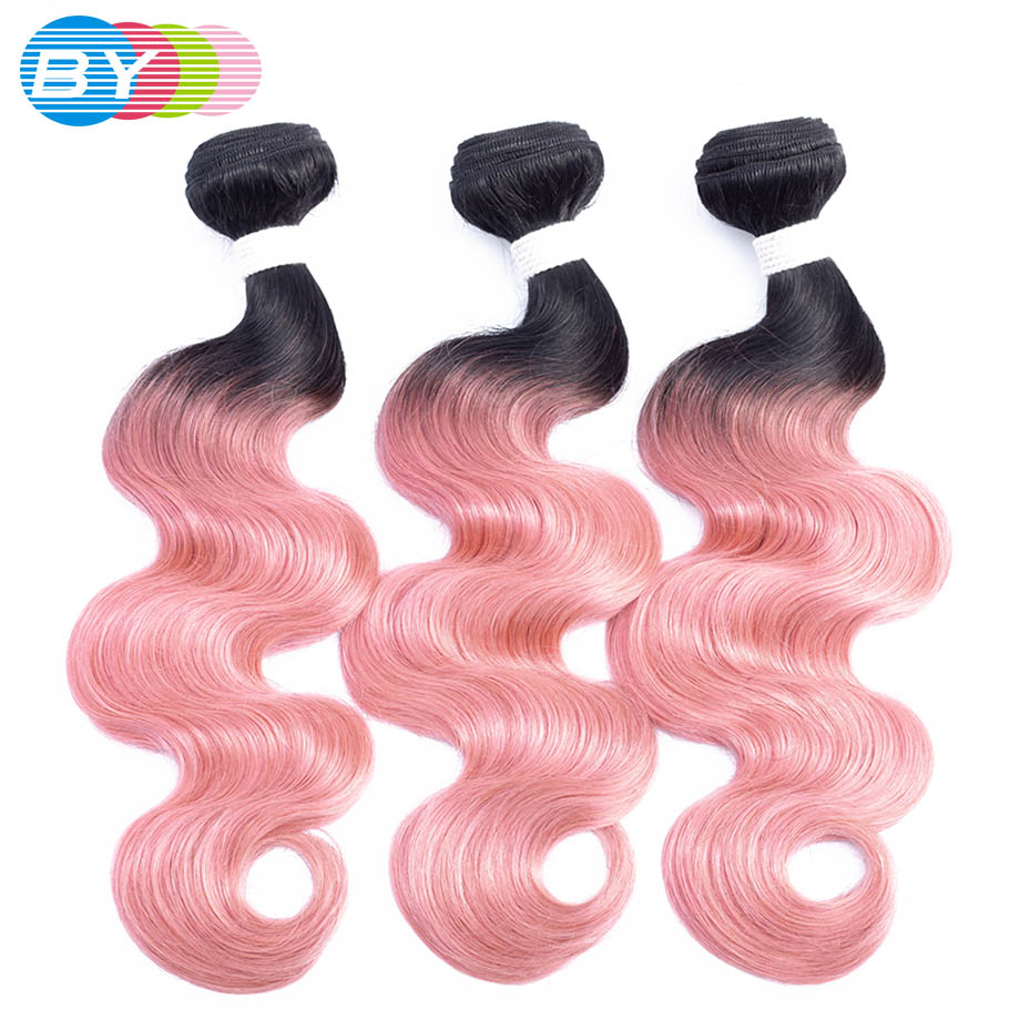 By Pre Colored Non Remy Hair Extension Human Hair Weave Ot