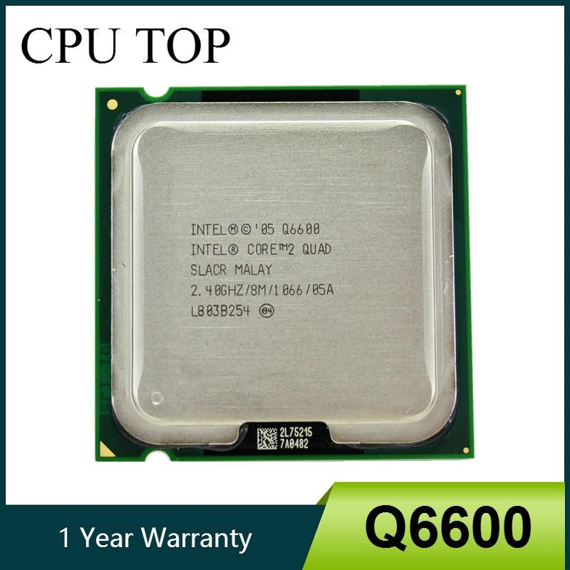 Intel Core 2 Quad Q6600 CPU Processor SL9UM SLACR 2 4GHz 8MB 1066MHz Socket 775 cpu Innrech Market.com