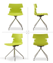 Plastic Chair Simple Casual Fashion Office Modern Restaurant Tables Chairs Contemporary Dining Chairs