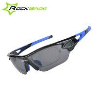 ROCKBROS 자전거 안경 UV 증거 편광 프레임 선글라스 자전거 자전거 안경 안경 고글 장난감 총 안경