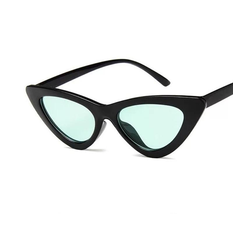 High Quality Vintage Women Sunglasses Cat eye Eyewear Brand Designer Retro Sunglass Female Men Oculos de sol UV400 Sun glasses in Women 39 s Sunglasses from Apparel Accessories
