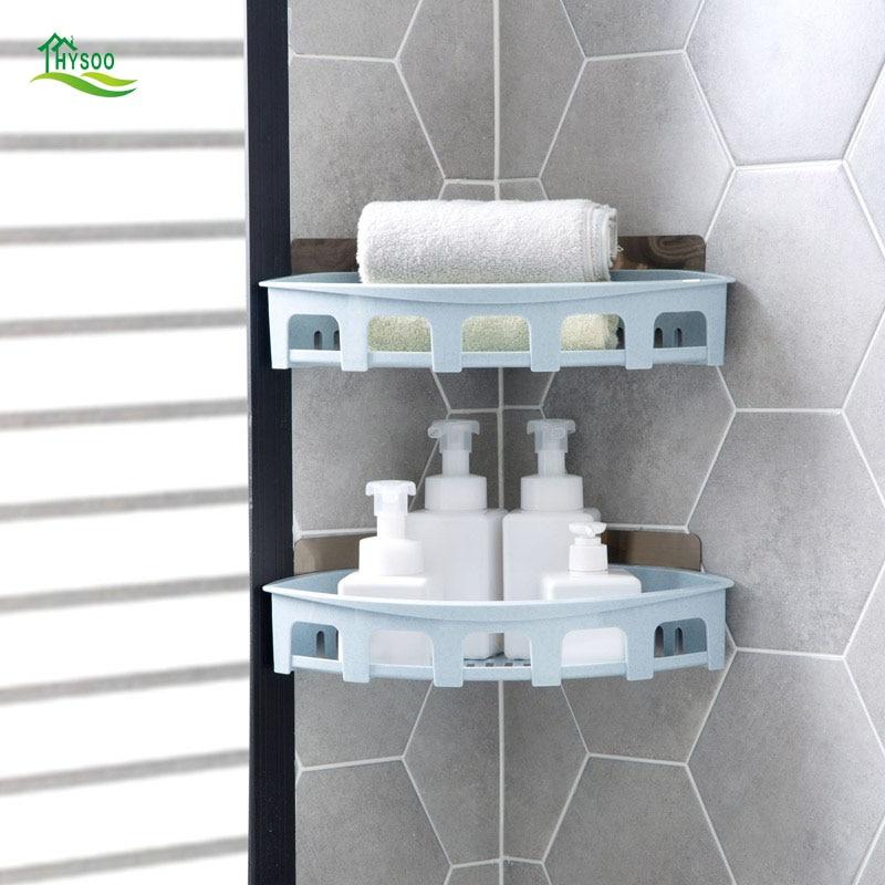 Drip-Free Wall-Mounted Washroom Vanity Washbasin Toilet Bathroom Storage Shelves