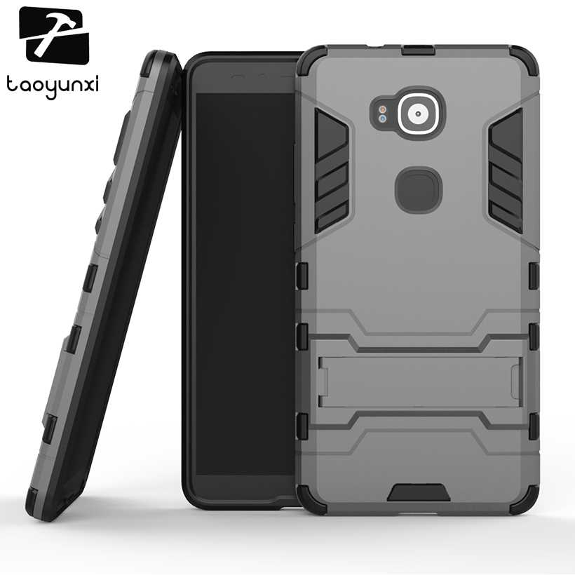TAOYUNXI Hybrid Phone Case Cover For Huawei Ascend G8 (G7 Plus) D199 GX8 Case Armor Housing For Huawei G8 Cover