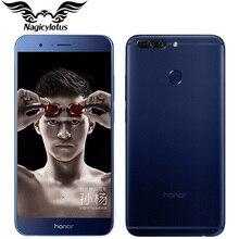 """Оригинал huawei honor v9 4 г lte мобильный телефон 5.7 """"4/6 ГБ RAM 64 ГБ ROM Kirin960 Octa-Core 2560×1440 P Dual 12MP Камеры Смартфон телефон"""