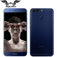 "Original Huawei Honor V9 4G LTE Mobile Phone 5.7"" 4/6GB RAM 64GB ROM Kirin960 Octa-Core 2560x1440P Dual 12MP Camera Smart Phone"