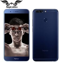 Original Huawei Honor V9 4G LTE Mobile Phone 5.7″ 4/6GB RAM 64GB ROM Kirin960 Octa-Core 2560x1440P Dual 12MP Camera Smart Phone