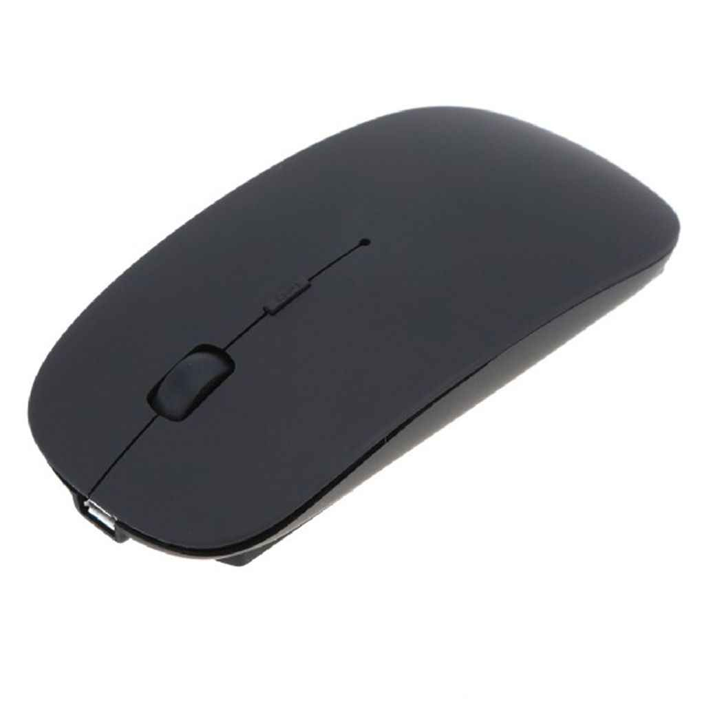 2019 Promosi Komputer Mouse Mouse untuk Laptop Notebook! Ultra Tipis 2.4G Optik Wireless Mouse USB Receiver Udara Mouse Tanpa Kabel