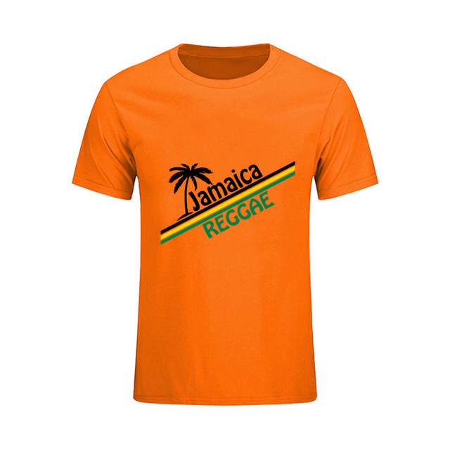 Brand Clothing Men s tshirt Custom Made Jamaica Reggae Tee Newest Short  Sleeve Male T Shirts big deb61262db2f
